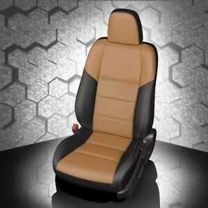 Remarkable Details About Katzkin Black Tan Leather Interior Seat Covers Fit 2015 2018 Toyota Rav4 Xle Forskolin Free Trial Chair Design Images Forskolin Free Trialorg