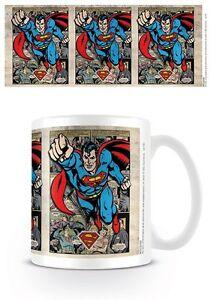 Dc Originales Superman Montaje Taza En Caja De Regalo 100 Mercancia
