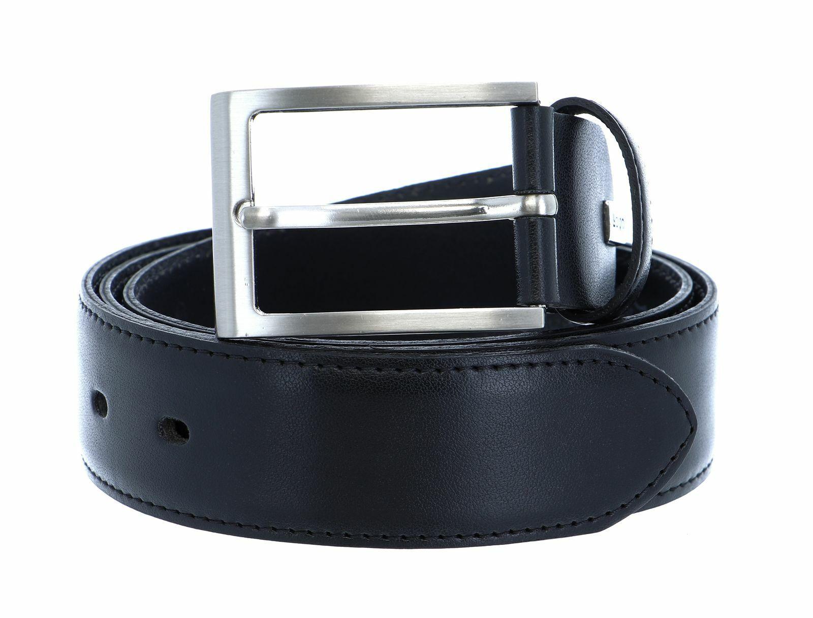 LLOYD Men´s Leather Belt 3.5 W100 Gürtel Accessoire Black Schwarz
