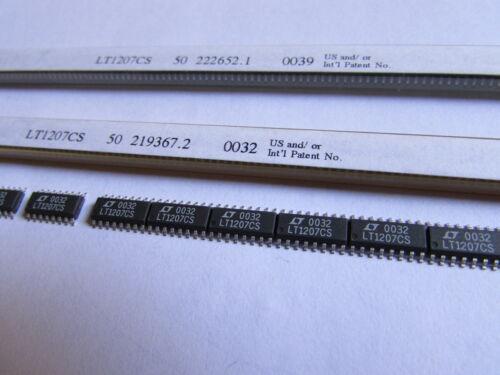60MHz Operational Amplifier 16-SOP Op AMP LT1207CS Linear Technology Dual 250mA