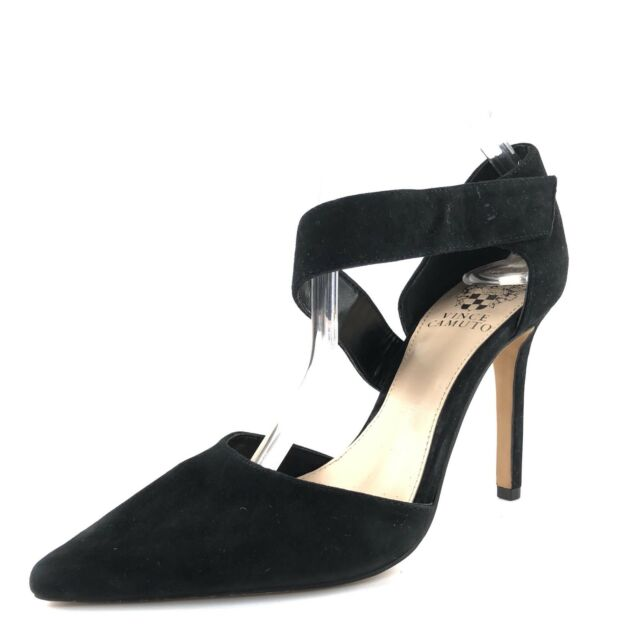 32e214c4265 Vince Camuto Carlotte Women US 9 Black HEELS Pre Owned 1306 for sale ...