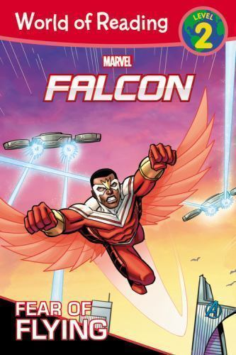 World of Reading : Falcon Fear of Flying (Level 2 Early Reader) Marvel 1