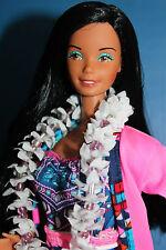Super barbie Hawaiian/HTF/1978/taiwán & HTF Superstar atuendo 70er