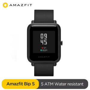 New Amazfit Bip S Smart Watch Heart Rate Fitness Monitor GPS 5ATM Waterproof US