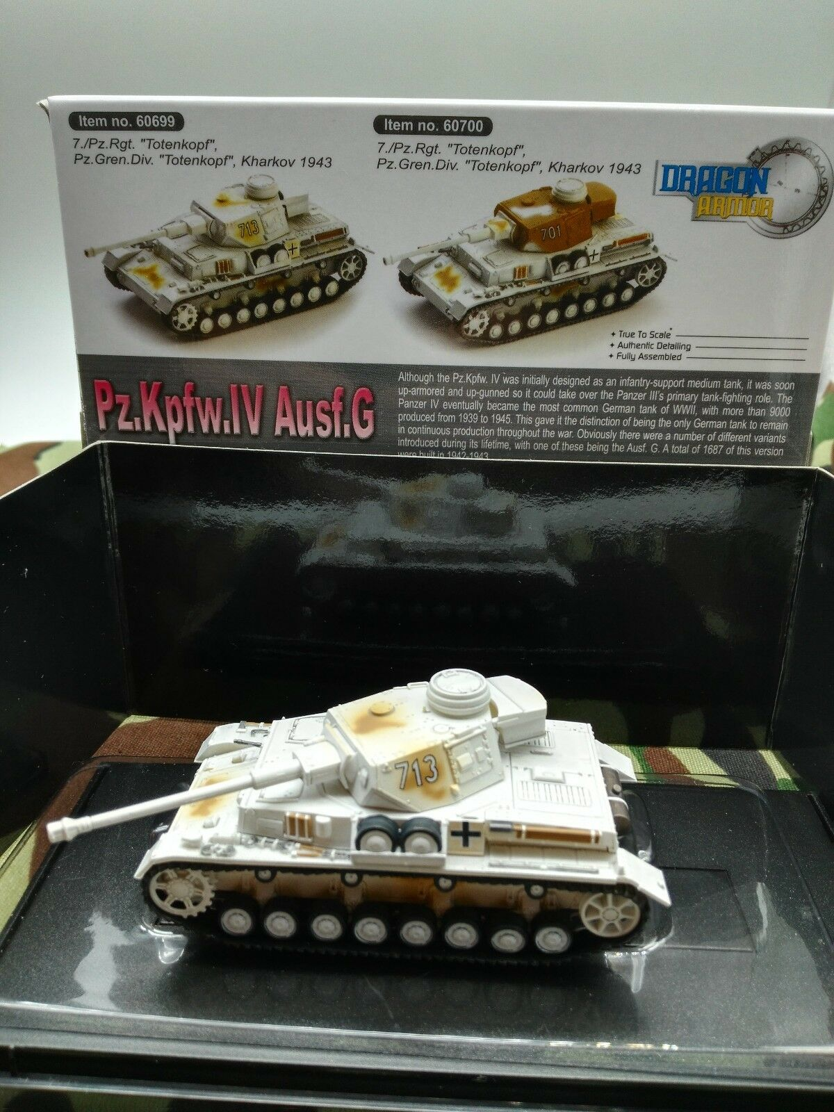 Dragon Armor 1 72 Panzer IV Tank Carro Armato Panzerkampfwagen     Lebendige Form