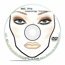 1800+ Makeup Face Charts - MAC Pro Bible Cosmetics Manual Training DVD CD B51
