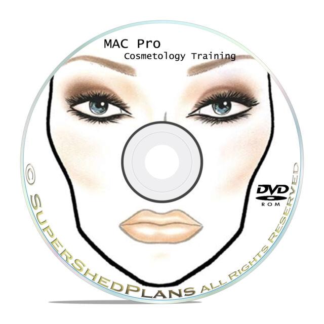 1700 Mac Makeup Face Charts Cosmetics Training Manual For Sale