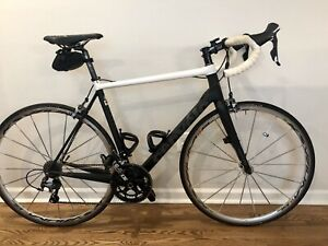 Cervelo R3 58cm Carbon Fiber Road Bike Mavic Black White