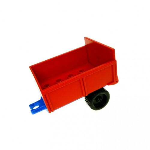 1x Lego Duplo Pendant Red Blue Cargo Area Flap Farm 4820 4821ac01 4822