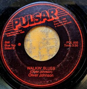 ST-LOUIS-BLUES-45-OLIVER-JOHNSON-Jealous-Kind-of-Love-Walkin-Blues-PULSAR-005