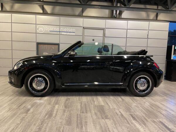 VW The Beetle 1,2 TSi 105 Design Cabriolet DSG - billede 1