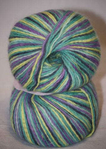 1x25g//0.88oz 100/% ANGORA Wool Worsted Yarn by Nova #3838 CANADA Novangora