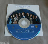 West Wing Season 1 Disc 6 Replacement Dvd (disc 6), Free Shipping