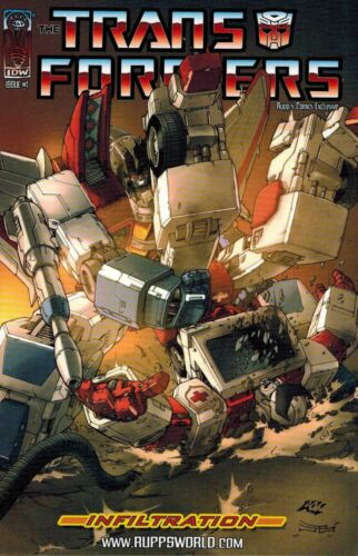 Transformers Infiltration #1 Rupps World Exclusive Store Variant