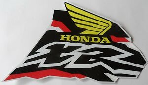 Tank Decals Honda Xr 250, XR250 XR250R GAS  GRAPHICS, stickers,, gloss, 1998