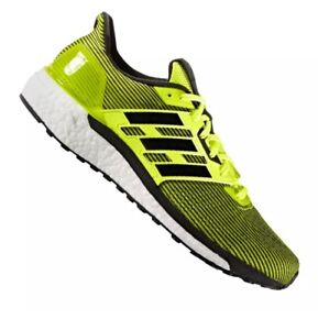 e51ab3d84 Image is loading New-Adidas-Boost-Supernova-Running-Shoes-Yellow-Black-