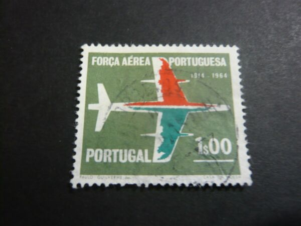 Adroit Poste Aérienne Stamp Old Timbre Portugal