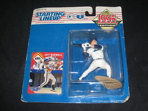 JEFF BAGWELL STAR 1995 STARTING LINEUP COLLECTIBLE ACTION FIGURE NEVER OPENED