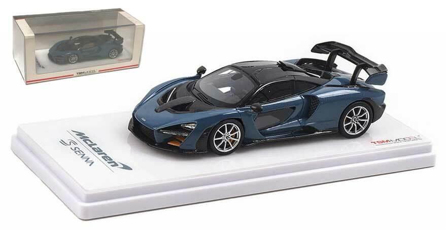 TrueScale McLaren Senna 2018-LA VITTORIA Grigio Scala 1/43