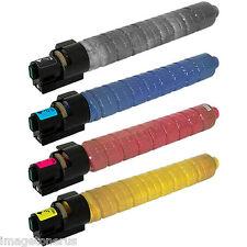4-Pack Toner Set for Ricoh Aficio MP C2800 C3300 MPC2800 MPC3300 841276