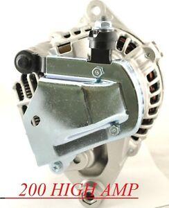 HIGH OUTPUT ALTERNATOR FOR MAZDA RX-7 626 MX3 1.3 L4 1993 ...
