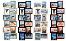 Modena Bilderrahmen in Natur für 4 Fotos 10x15 cm 13x18 cm Galerie Foto Collage