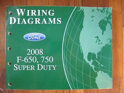 2013 Ford F-650 750 Service Manual Electrical Wiring Diagram OEM Factory Shop