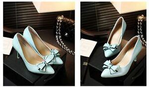 Decollte-Schuhe-Pumps-Sandalen-Frau-Absatz-Stift-9-CM-Stilett-Blau-9175