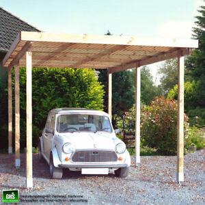 Carport-3x6-m-Uberdachung-oder-Unterstand-Holzbausatz