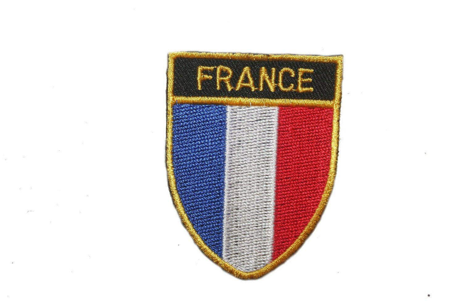 FRANCE French Country Flag Embroidered PATCH Badge *NEW*