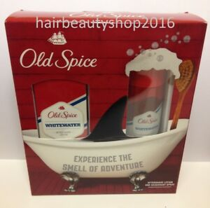 Image is loading Old-Spice-Whitewater-Christmas-Gift-Set-for-Men-