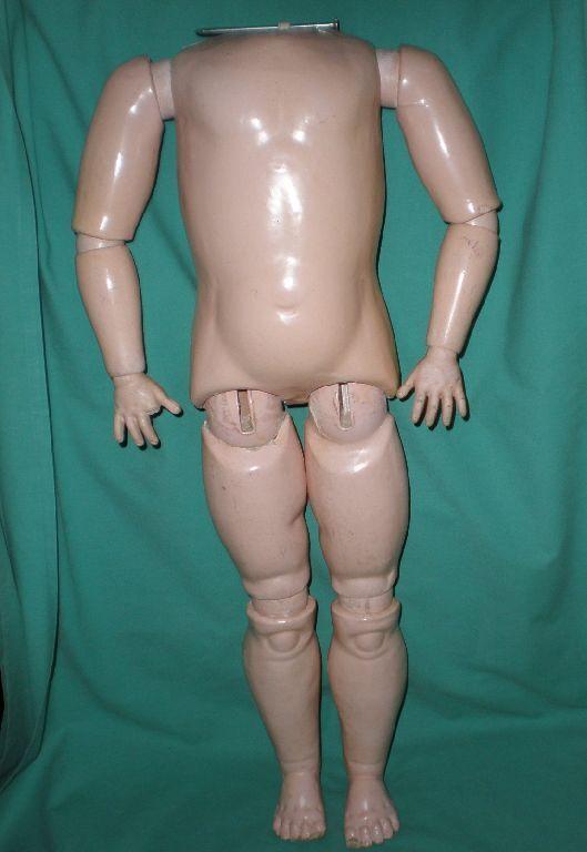 Muñeca Antigua Composición cuerpo articulado, 25