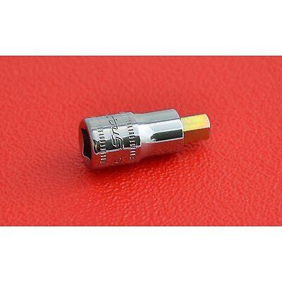 "unused snap on tools usa 6mm stubby 1/4"" drive hex allen socket (4305)"