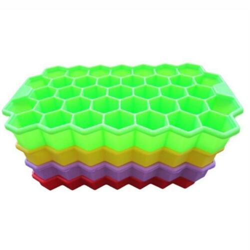 Silicone Honey comb Shaped Mold Jellys Pudding Cake Ice Tray Mould Cube shan