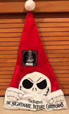 ba0713fcd69 Disney s The Nightmare before Christmas Jack Skellington Santa Hat 25 YEARS