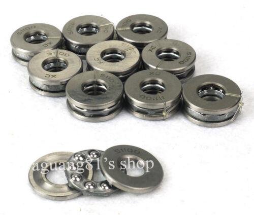 10pcs 51100 Thrust Ball Bearings Thrust Bearing 10*24*9mm Axial Ball