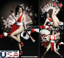1/6 The King Of Fighters Mai Shiranui Head Sculpt Suit Set For Phicen Female USA