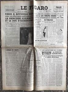 N131-La-Une-Du-Journal-Le-Figaro-15-Mai-1948