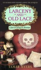Den of Antiquity: Larceny and Old Lace 16 by Tamar Myers (1996, Paperback)