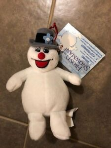 310579d42 Details about Frosty The Snowman Christmas Beanie Plush Toy With Tag