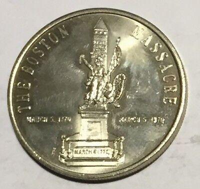 Boston Massacre 200th Anniversary 1970 High Quality Goods # C7774 Boston Medal Ma