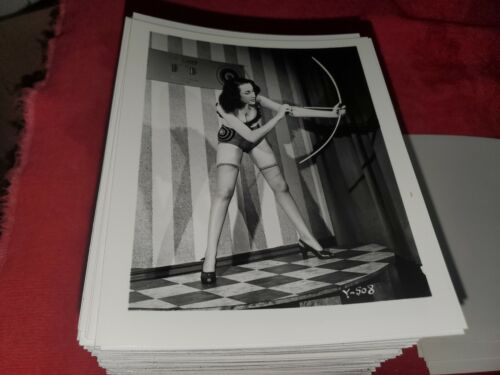 4 X 5 ORIGINAL PIN UP PHOTO FROM IRVING KLAW ARCHIVES OF MODEL  Y SERIES #508