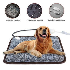 Adjustable-Heating-Pad-For-Dog-Cat-Puppy-Pet-Electric-Warm-Mat-Bed-Waterproof