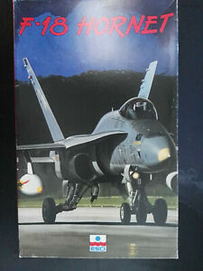 F-18-Hornet-amerikanischer-Jagdbomber-ESCI-Scale-1-48-Kit-4072-Raritaet