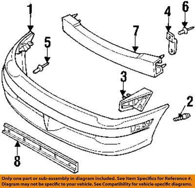 Dodge CHRYSLER OEM 94-01 Ram 1500 Front Bumper-Upper Cover Rivet 6503938