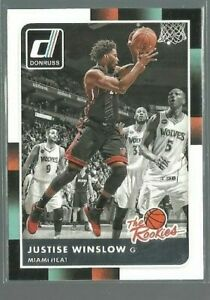 2015-16-Donruss-The-Rookies-45-Justise-Winslow-ref-82548