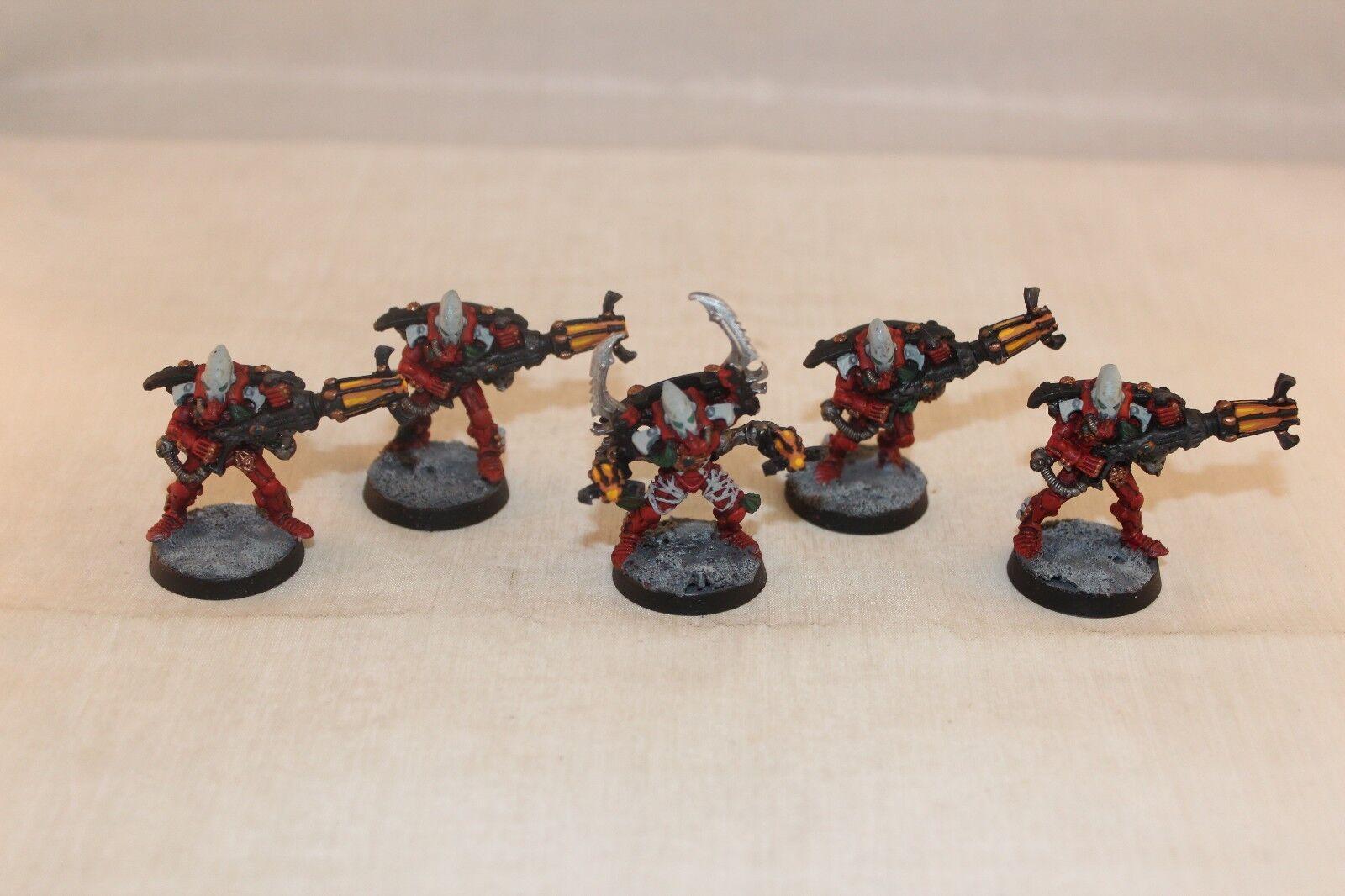 Warhammer Eldar Warpspiders Well Painted Finecast