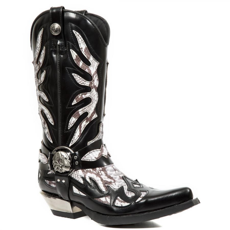 Bota Hombre PIEL Tejana NEW ROCK M.7991-S3 Western Cowboy Leder boot M.7991-S3 ROCK 5487ee