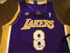 Details about KOBE BRYANT AUTO JERSEY LE #24! of108 UDA withPEN CAM!! Rare Find!