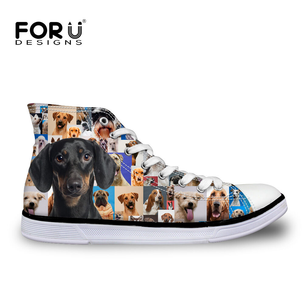 Men Women Funky Animal Canvas shoes Flat Comfortable Snealker Walking shoes NEW